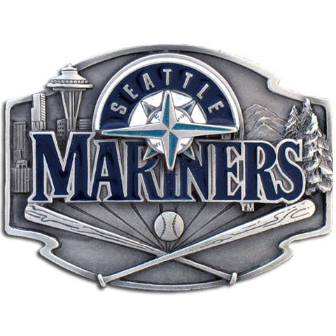 Seattle Mariners Team Belt Buckle