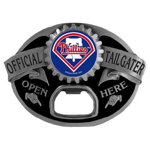 Philadelphia Phillies Tailgater Belt Buckle