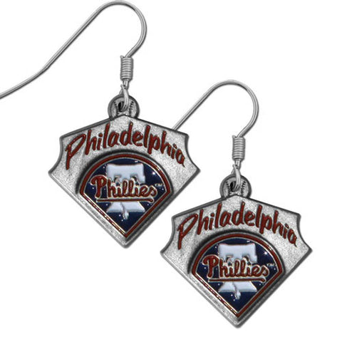 Philadelphia Phillies Classic Dangle Earrings