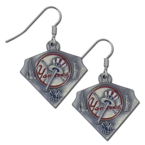 New York Yankees Classic Dangle Earrings