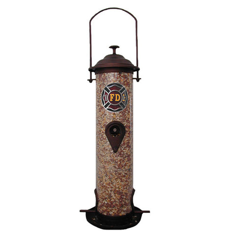 Firefighter Bird Feeder