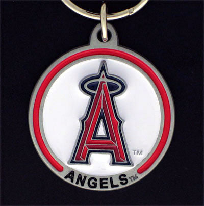 Los Angeles Angels of Anaheim Carved Metal Key Chain