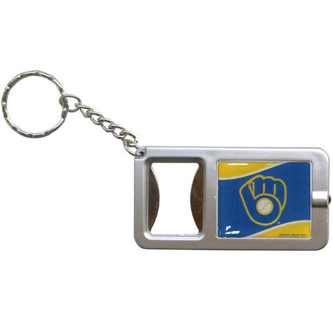 Brewers Flashlight Key Chain