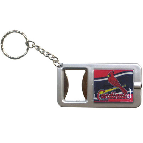 St L Cardinals Flashlight Key Chain