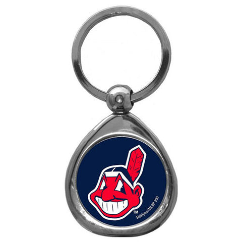 Cleveland Indians Chrome Key Chain