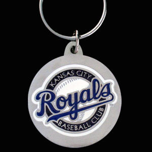 Kansas City Royals Carved Metal Key Chain