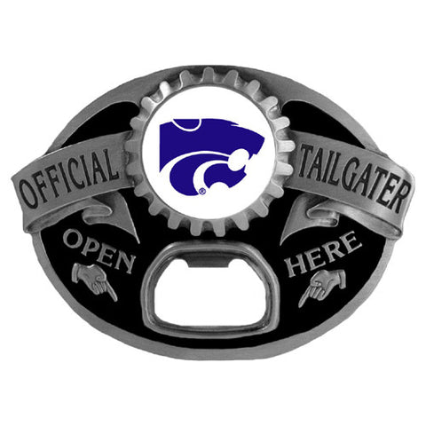 Kansas St. Wildcats Tailgater Belt Buckle