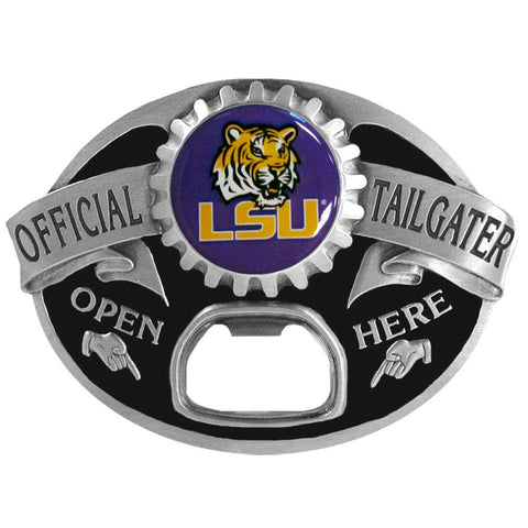 LSU Tigers Tailgater Belt Buckle