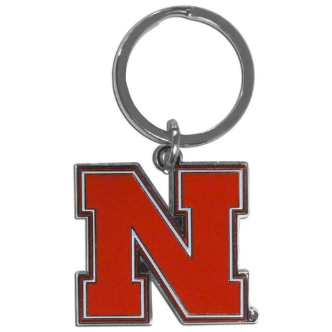 Nebraska Cornhuskers Enameled Key Chain