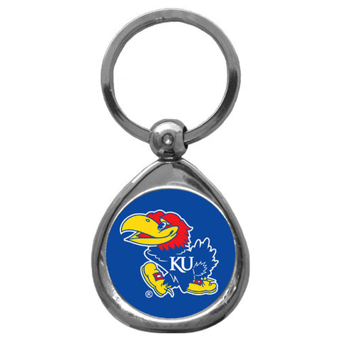 Kansas Jayhawks Chrome Key Chain