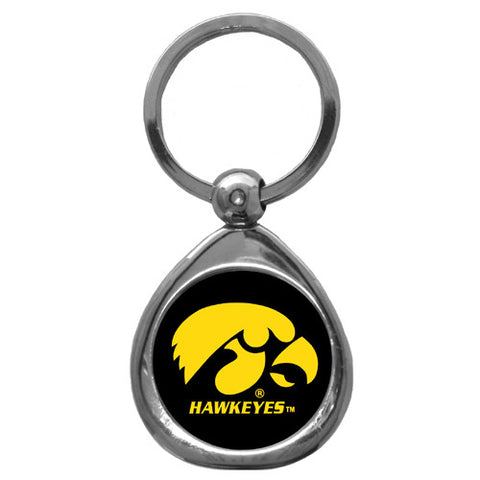 Iowa Hawkeyes Chrome Key Chain