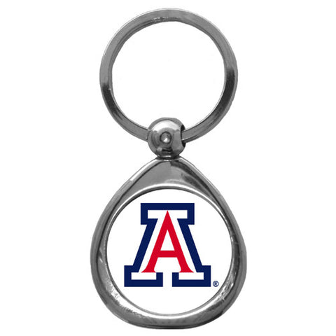 Arizona Wildcats Chrome Key Chain