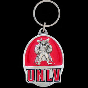 UNLV Rebels Carved Metal Key Chain