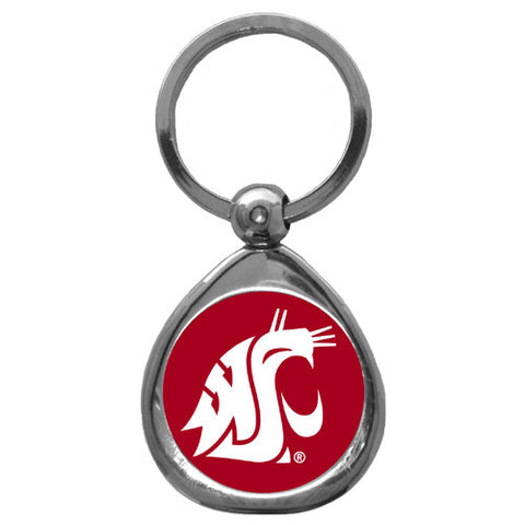 Washington St. Cougars Chrome Key Chain