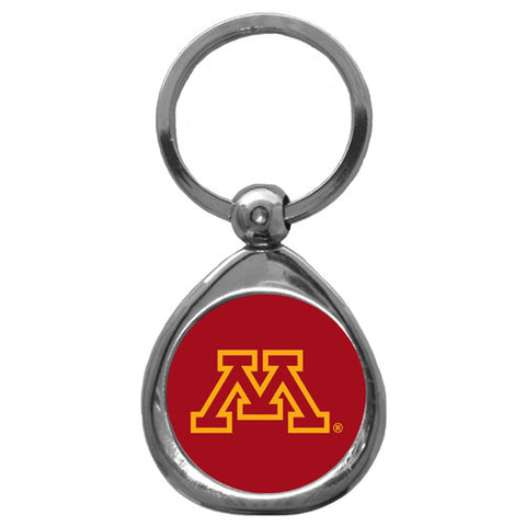 Minnesota Golden Gophers Chrome Key Chain