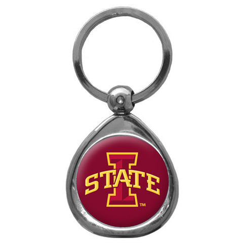 Iowa St. Cyclones Chrome Key Chain