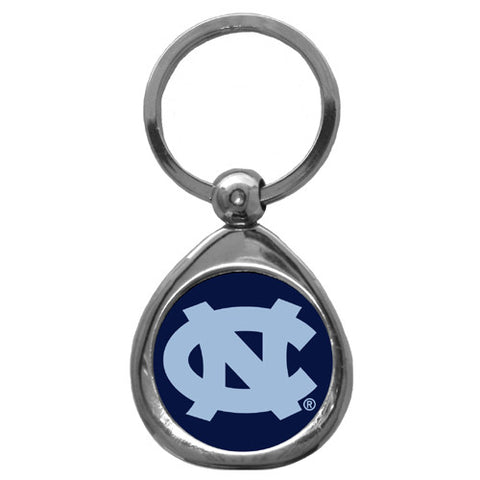 N. Carolina Tar Heels Chrome Key Chain