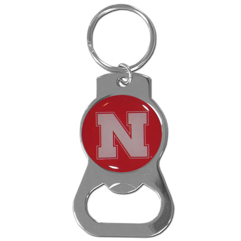 Nebraska Cornhuskers Bottle Opener Key Chain