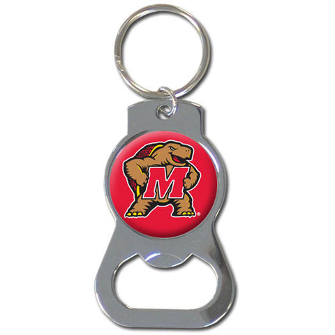 Maryland Terrapins Bottle Opener Key Chain