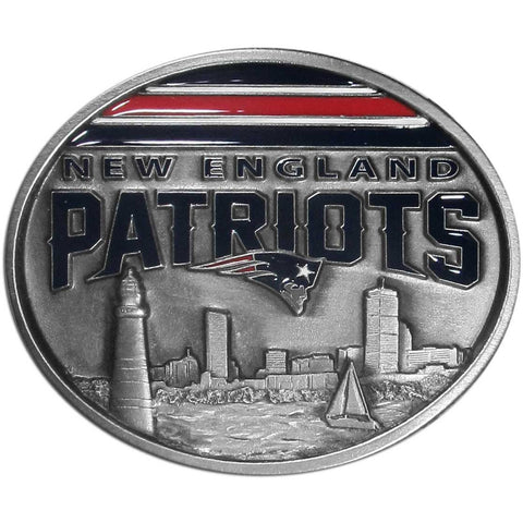 New England Patriots Team Belt Buckle
