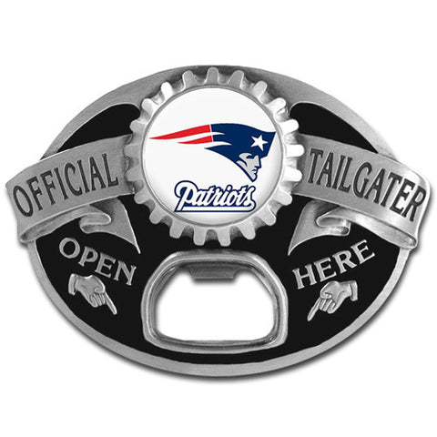 New England Patriots Tailgater Belt Buckle
