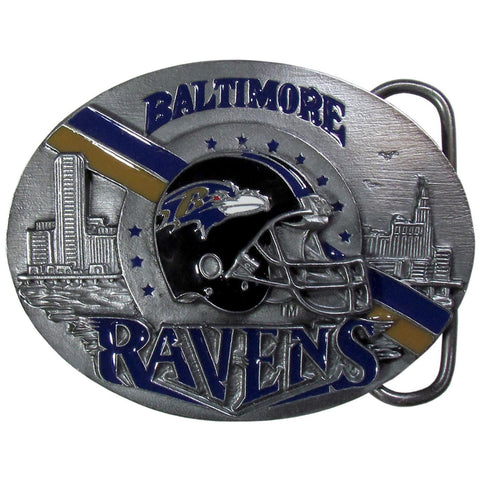 Baltimore Ravens Team Belt Buckle
