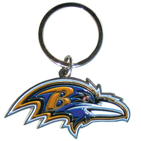 Baltimore Ravens Enameled Key Chain
