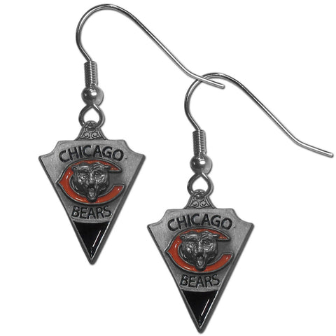 Chicago Bears Classic Dangle Earrings