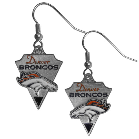 Denver Broncos Classic Dangle Earrings