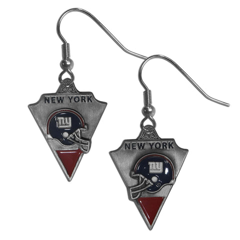 New York Giants Classic Dangle Earrings