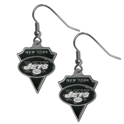 New York Jets Classic Dangle Earrings