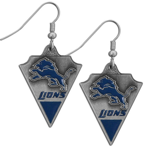 Detroit Lions Classic Dangle Earrings