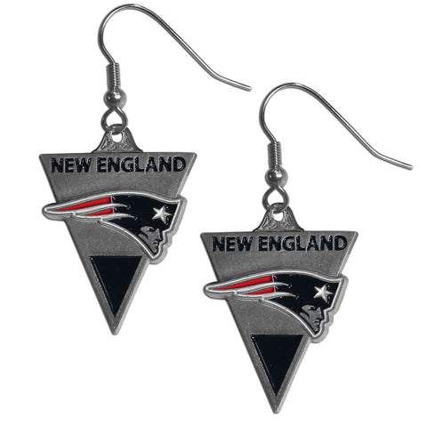 New England Patriots Classic Dangle Earrings