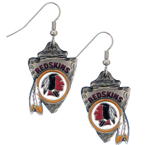 Washington Redskins Classic Dangle Earrings