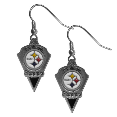 Pittsburgh Steelers Classic Dangle Earrings