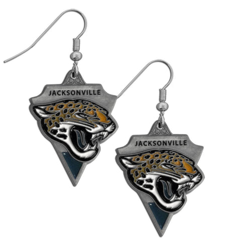 Jacksonville Jaguars Classic Dangle Earrings