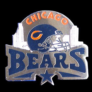 Chicago Bears Glossy Team Pin