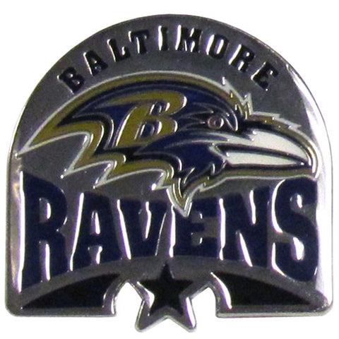 Baltimore Ravens Glossy Team Pin