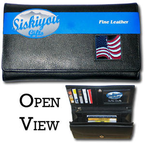 Women's Wallet - American Flag