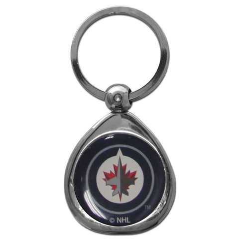 Winnipeg Jets™ Chrome Key Chain