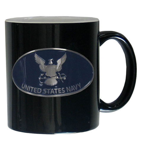 Navy Ceramic Coffee mug