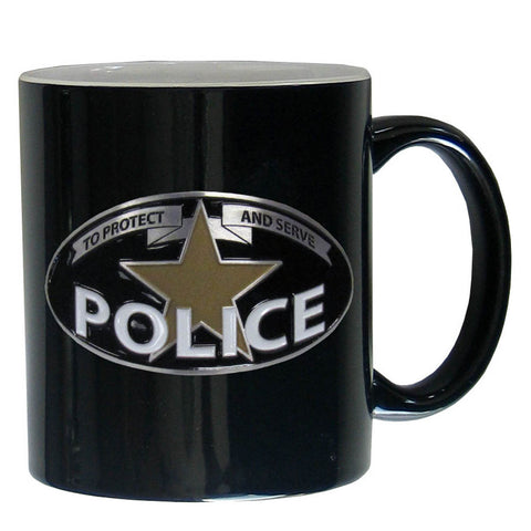Police Ceramic Coffee mug