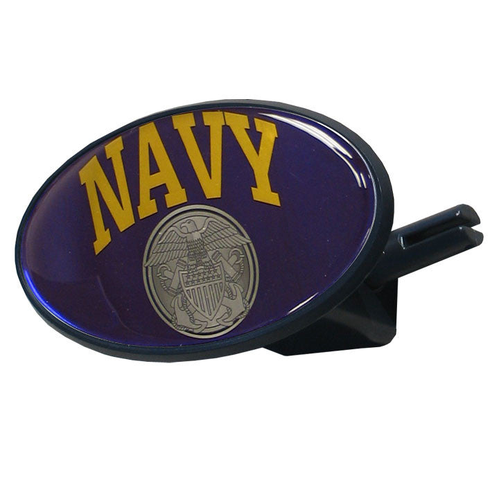 Navy Plastic Hitch Cover