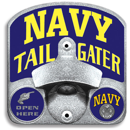 Navy Tailgater Hitch Cover