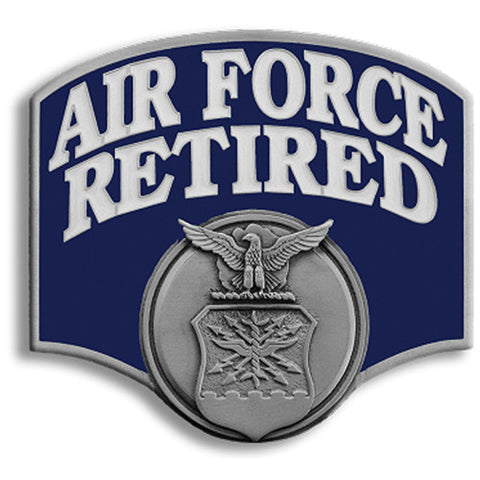 Air Force Retired Hitch Cover