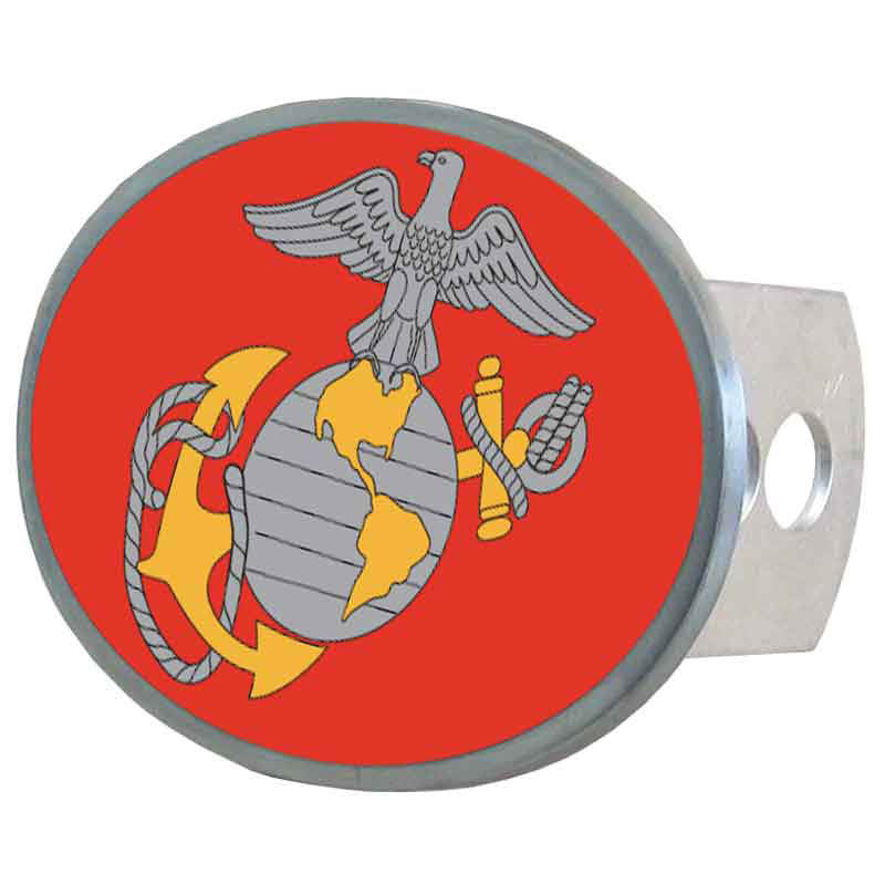 Marines Oval Hitch Cover