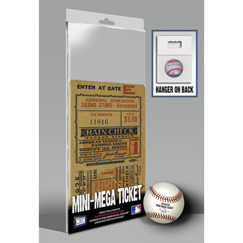 1928 World Series Mini-Mega Ticket - New York Yankees