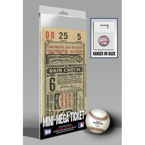 1931 World Series Mini-Mega Ticket - St Louis Cardinals