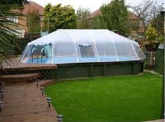Fabrico Sun Dome Enclosures For Vogue Discovery & Impact Pools - H2oFun.co.uk