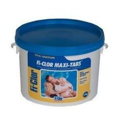 Fi-Clor Maxi Tabs 2.4kg - Chlorine 200g Tablets For Swimming Pools - H2oFun.co.uk